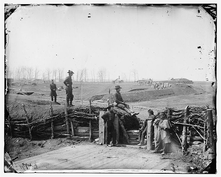 confederate fortifications at manassas va