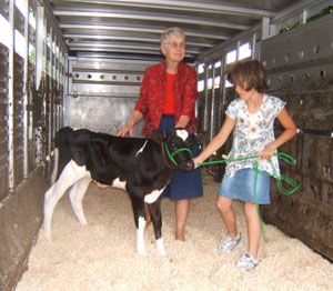 Naomi from Fairvue Farms. Photo by Elinor Donahue.