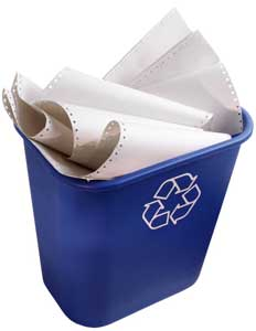 Recycle paper